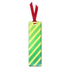 Green and yellow lines Small Book Marks