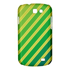 Green and yellow lines Samsung Galaxy Express I8730 Hardshell Case