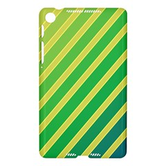 Green and yellow lines Nexus 7 (2013)