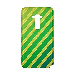 Green and yellow lines LG G Flex