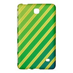 Green and yellow lines Samsung Galaxy Tab 4 (7 ) Hardshell Case