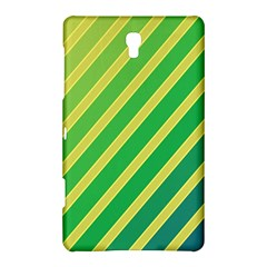 Green and yellow lines Samsung Galaxy Tab S (8.4 ) Hardshell Case
