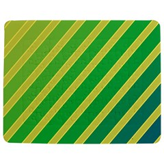 Green And Yellow Lines Jigsaw Puzzle Photo Stand (rectangular)