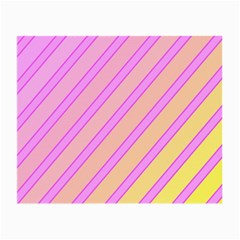 Pink and yellow elegant design Small Glasses Cloth