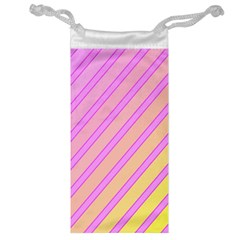 Pink and yellow elegant design Jewelry Bags