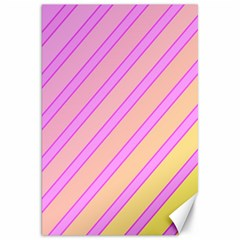 Pink and yellow elegant design Canvas 20  x 30