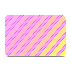Pink and yellow elegant design Plate Mats