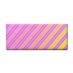 Pink and yellow elegant design Hand Towel