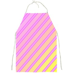 Pink and yellow elegant design Full Print Aprons