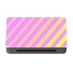 Pink and yellow elegant design Memory Card Reader with CF
