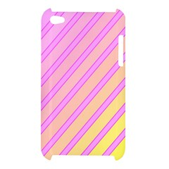 Pink and yellow elegant design Apple iPod Touch 4