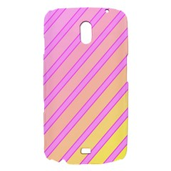 Pink and yellow elegant design Samsung Galaxy Nexus i9250 Hardshell Case