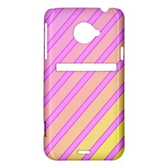 Pink and yellow elegant design HTC Evo 4G LTE Hardshell Case