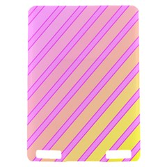 Pink and yellow elegant design Kindle Touch 3G