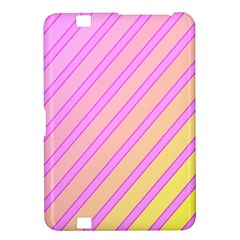 Pink and yellow elegant design Kindle Fire HD 8.9