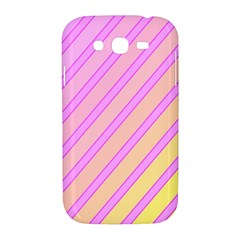 Pink and yellow elegant design Samsung Galaxy Grand DUOS I9082 Hardshell Case