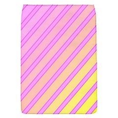 Pink and yellow elegant design Flap Covers (S)