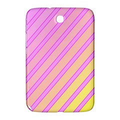 Pink and yellow elegant design Samsung Galaxy Note 8.0 N5100 Hardshell Case