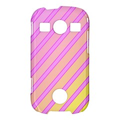 Pink and yellow elegant design Samsung Galaxy S7710 Xcover 2 Hardshell Case