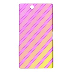 Pink and yellow elegant design Sony Xperia Z Ultra