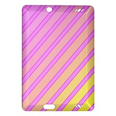 Pink and yellow elegant design Amazon Kindle Fire HD (2013) Hardshell Case