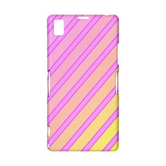Pink and yellow elegant design Sony Xperia Z1