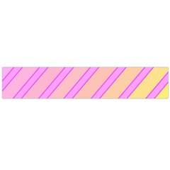 Pink and yellow elegant design Flano Scarf (Large)
