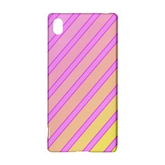 Pink and yellow elegant design Sony Xperia Z3+