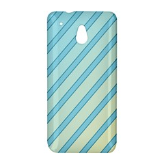 Blue elegant lines HTC One Mini (601e) M4 Hardshell Case