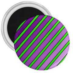 Purple and green lines 3  Magnets