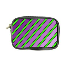Purple and green lines Coin Purse