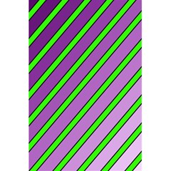 Purple and green lines 5.5  x 8.5  Notebooks