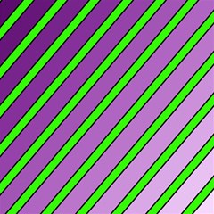 Purple and green lines Magic Photo Cubes