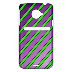 Purple and green lines HTC Evo 4G LTE Hardshell Case