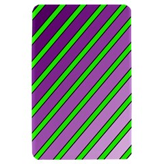 Purple and green lines Kindle Fire (1st Gen) Hardshell Case