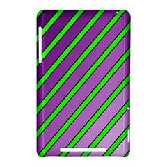 Purple and green lines Nexus 7 (2012)