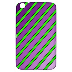 Purple and green lines Samsung Galaxy Tab 3 (8 ) T3100 Hardshell Case