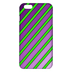 Purple and green lines iPhone 6 Plus/6S Plus TPU Case