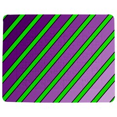Purple And Green Lines Jigsaw Puzzle Photo Stand (rectangular)