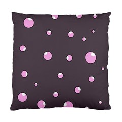 Pink bubbles Standard Cushion Case (Two Sides)