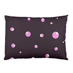 Pink bubbles Pillow Case (Two Sides)