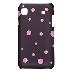 Pink bubbles Samsung Galaxy S i9008 Hardshell Case