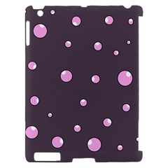 Pink bubbles Apple iPad 2 Hardshell Case (Compatible with Smart Cover)