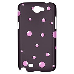 Pink bubbles Samsung Galaxy Note 2 Hardshell Case