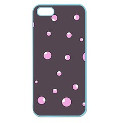 Pink bubbles Apple Seamless iPhone 5 Case (Color)