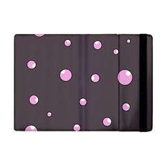 Pink bubbles Apple iPad Mini Flip Case