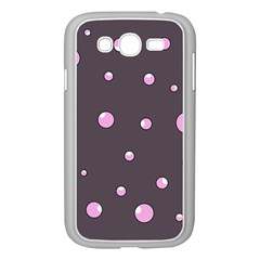 Pink bubbles Samsung Galaxy Grand DUOS I9082 Case (White)