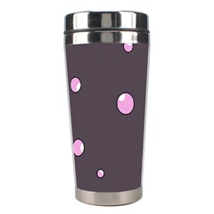 Pink bubbles Stainless Steel Travel Tumblers