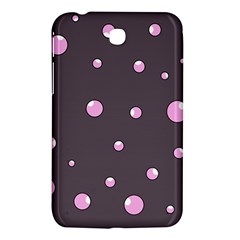 Pink bubbles Samsung Galaxy Tab 3 (7 ) P3200 Hardshell Case