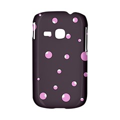 Pink bubbles Samsung Galaxy S6310 Hardshell Case